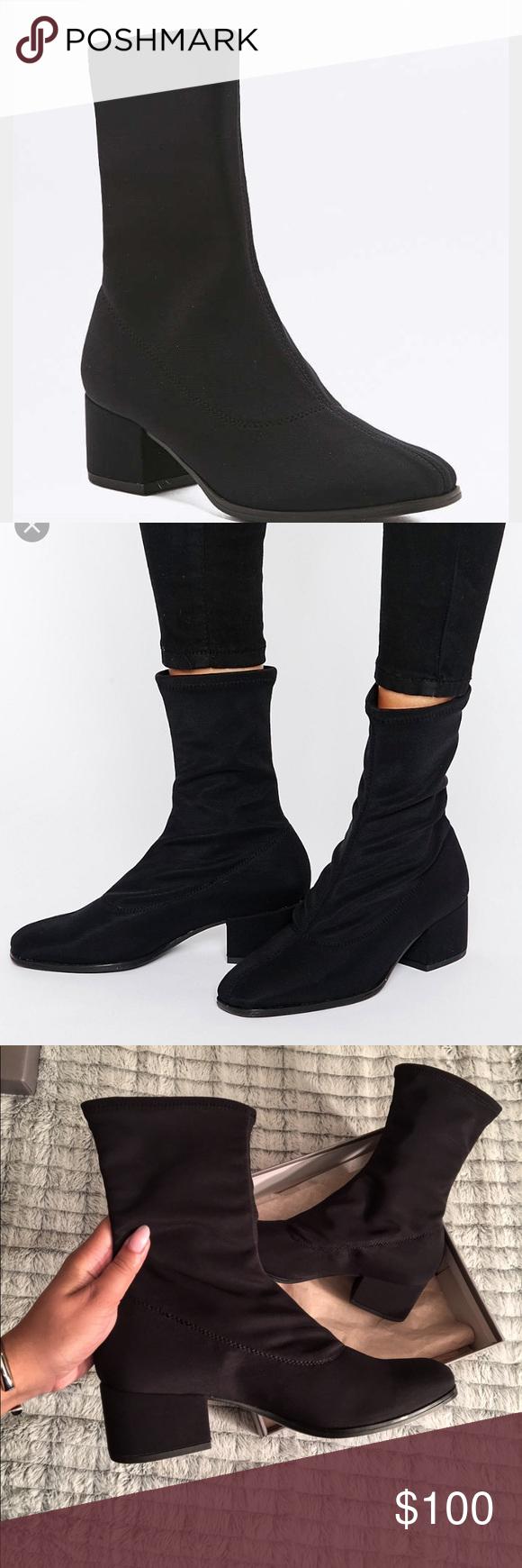 """Vagabond • """"Daisy"""" Ankle Sock Boot"""