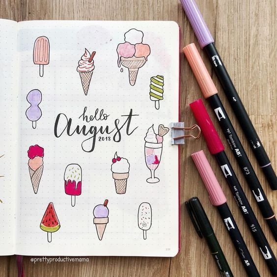 19 August Bullet Journal Covers That'll Blow Your Mind