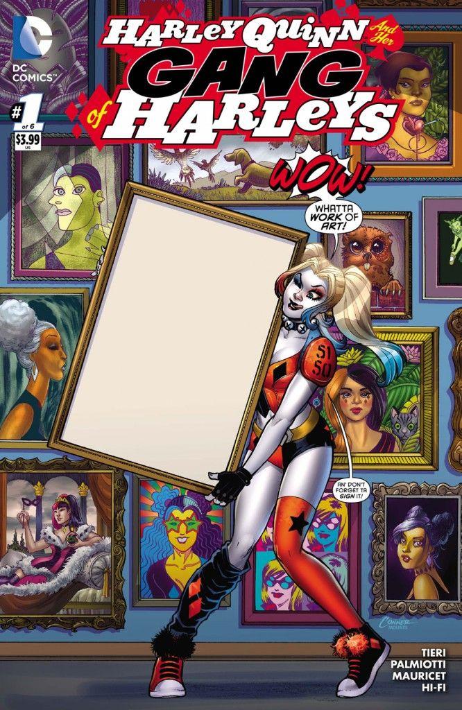 comic book review harley quinn her gang of harleys 1 dc