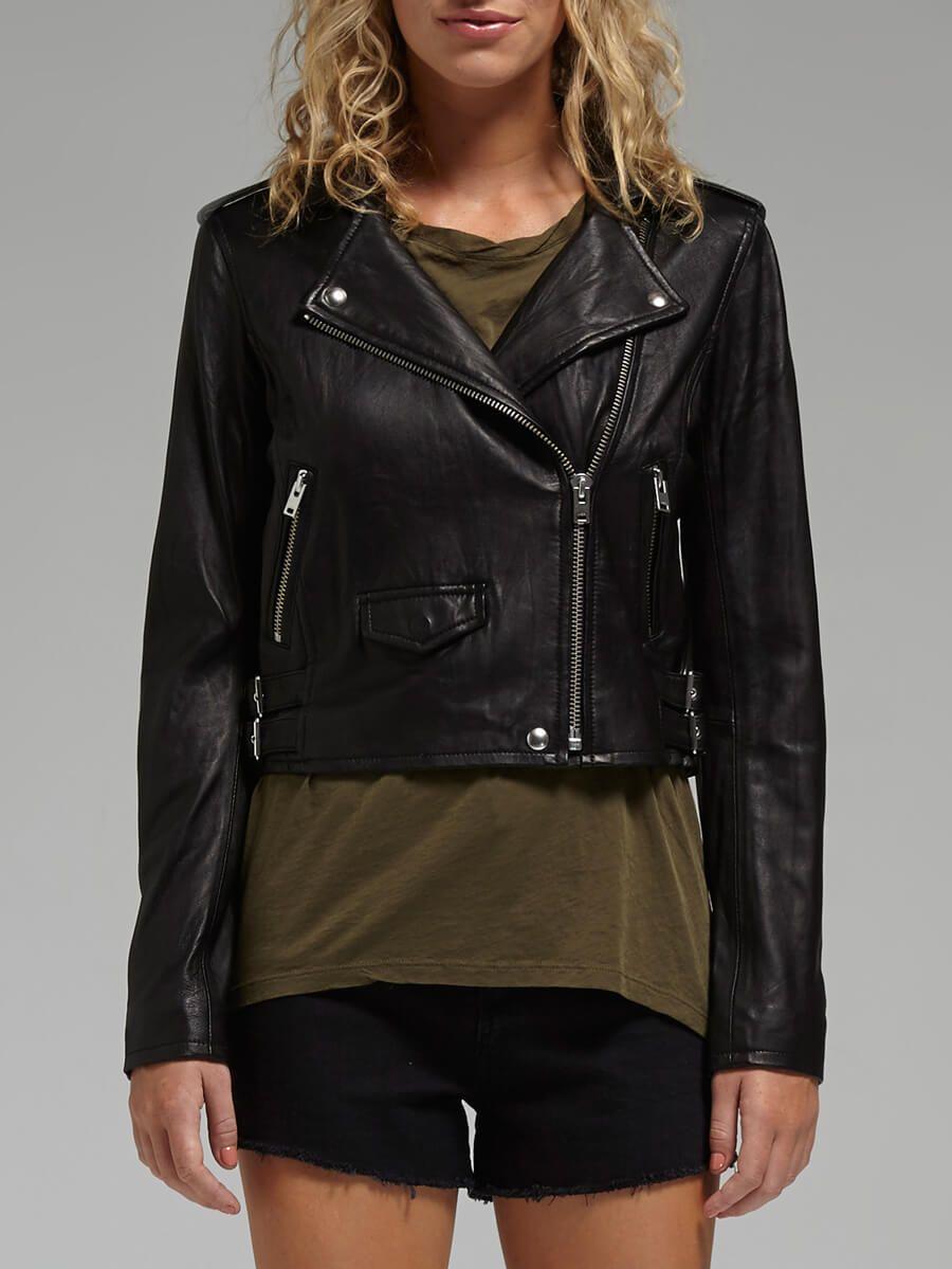 Leather jacket online australia - Ashville Leather Jacket