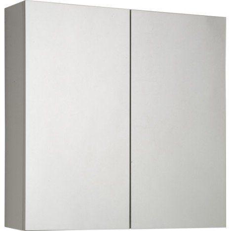 Armoire De Toilette Blanc L 60 Cm Sensea Modulo 50 Euros Armoire De Toilette Armoire Armoire A Pharmacie