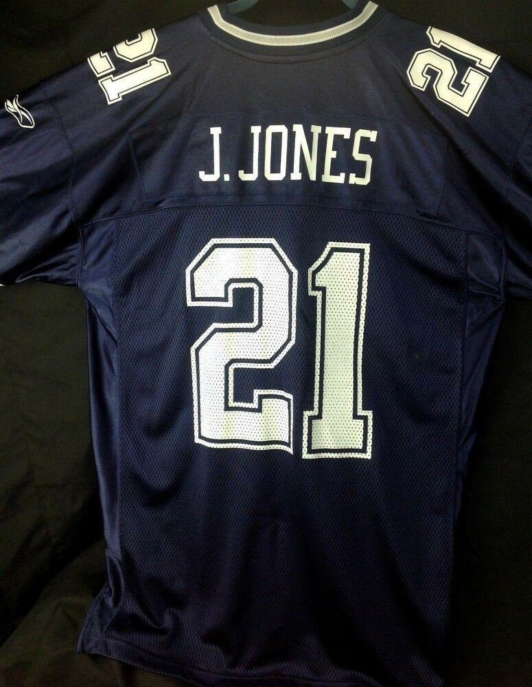 DALLAS COWBOYS Reebok Jersey NFL J. Jones 21 Adult