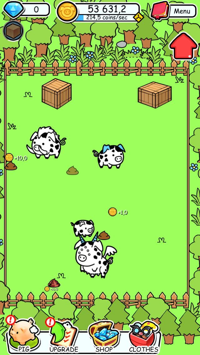 Look this evolution world I created! Go get pig evolution.