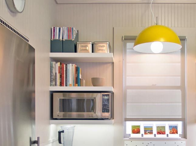 Open Shelves Reduce Visual Weight And Lend The Illusion Of A More Expansive  Space. For An Even Sleeker Look, Choose Floating Shelves Over Models ...
