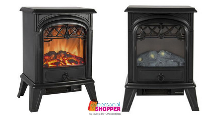 Closeout Electric Fireplace Heater - Only $75 (Was $180!) - http ...