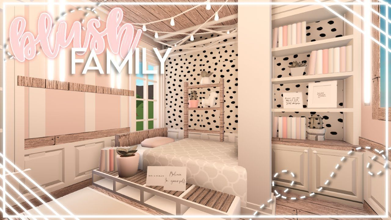 blush family home bloxburg speedbuild nixilia