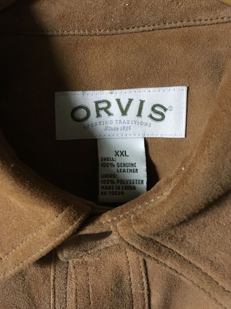 fde92b509 Estate Sale. Mens Orvis Suede Shirt. XXL #fashion #clothing #shoes ...