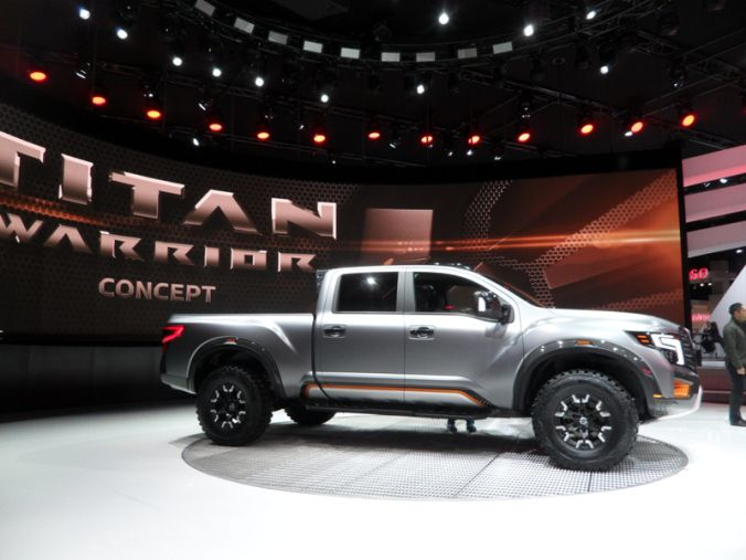 Naias 2016 Nissan Unveils Two Concept Models Titan Warrior And Ids Nissan Nissan Titan Concept Cars
