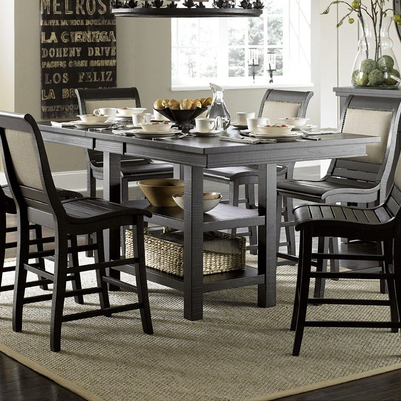 Kitchen Table Counter Height Wells Counter Room Sets Dining