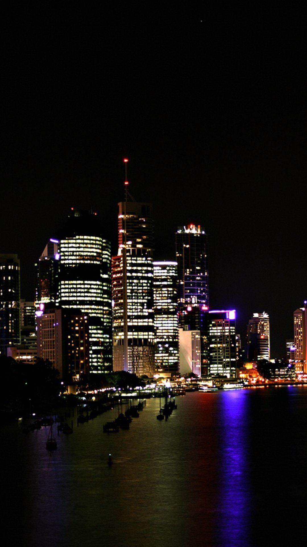 фото картинки ночного города на телефон мельников