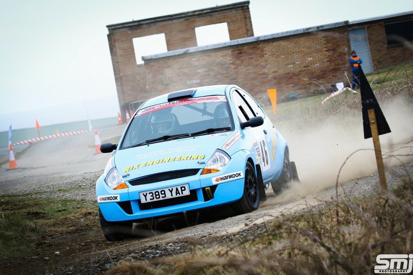 Ebay Ford Ka  Rally Car Top Spec Rally Track