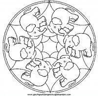 Mandala Da Colorare Per Bambini Mandala Pinterest Mandala