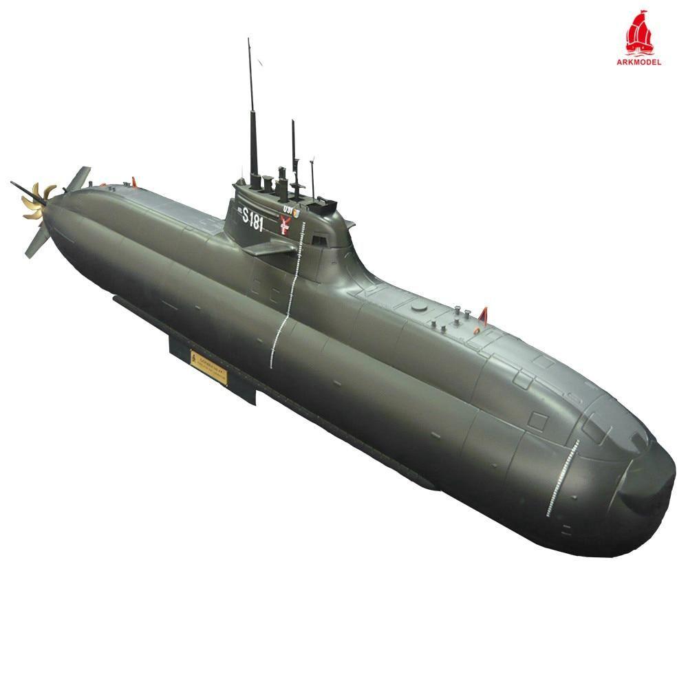Arkmodel 1 48 Type 212 A German Submarine U Boat 1 48 U31 Aip Rc Attack Submarines Deutsche Navy Marine Remote Control Ship Model Sailboat Model Boats Rc Model