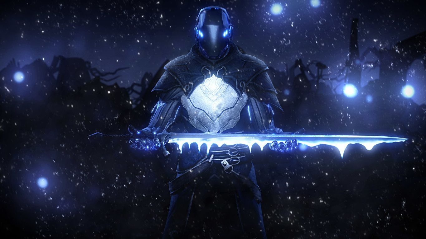 Wallpaper Armor Swords Sci Fi Fantasy Night Time 1366x768 Armour Night In 2020 Warriors Wallpaper Fantasy Art Warrior Digital Wallpaper