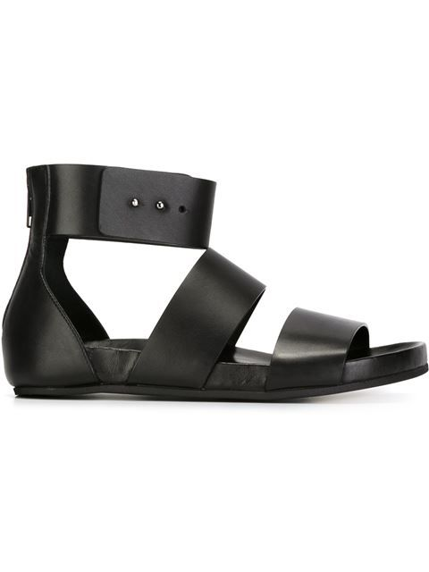 Woman by Common Projects Leather Ankle-Strap Sandals lowest price cheap low shipping fee iEwCuv