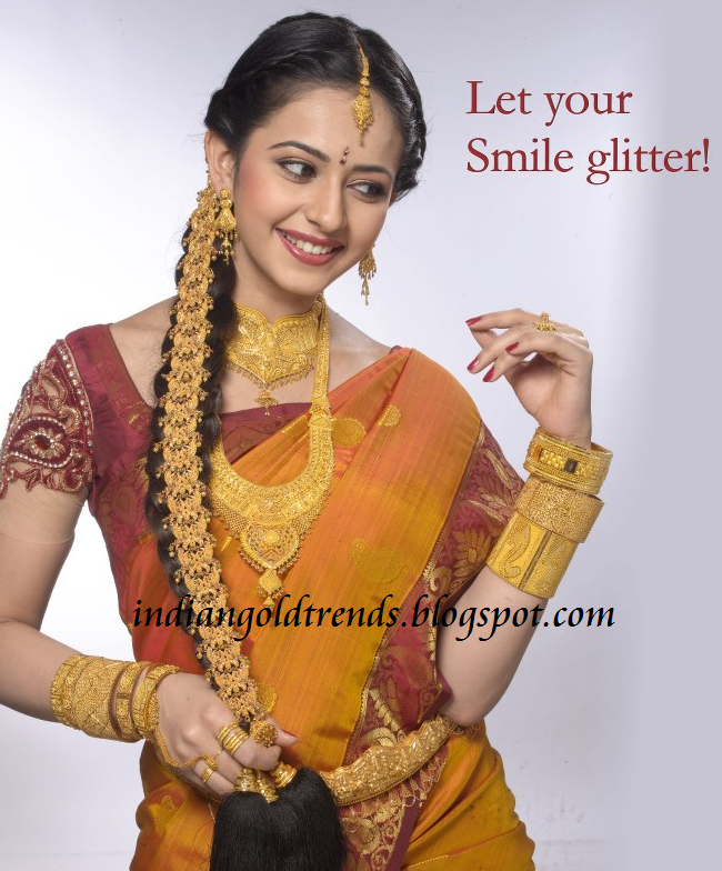 South indian gold bridal jewellery Check out beautiful south