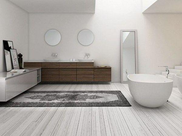 De minimalistische badkamerkamer gezien door inbani badkamer