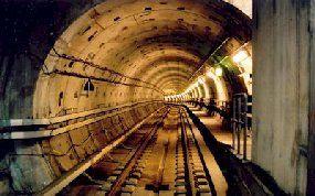 The metro of Copenhagen