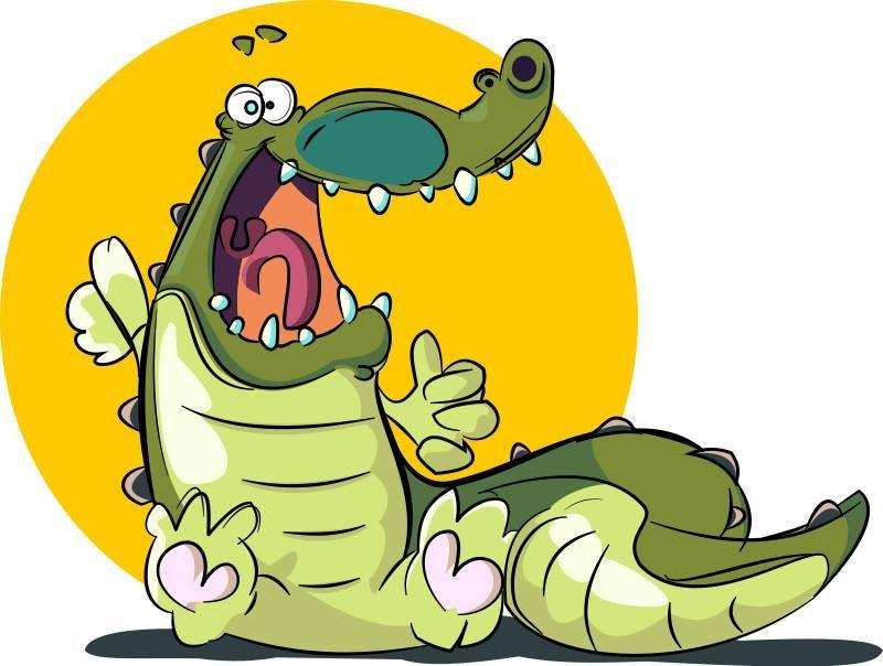 Poema infantil Un cocodrilo miedoso  Cuentos y dems para peques