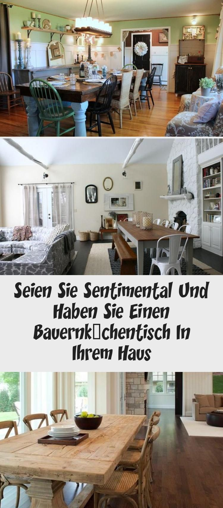 Küche Dekorieren Pinterest Seien Sie Sentimental Und Haben Sie Einen Bauernküchentisch In Ihrem Haus # Pinterest #designs #esszimmer #möbel #küche #bauern… | Home Decor, Decor, Entryway Tables