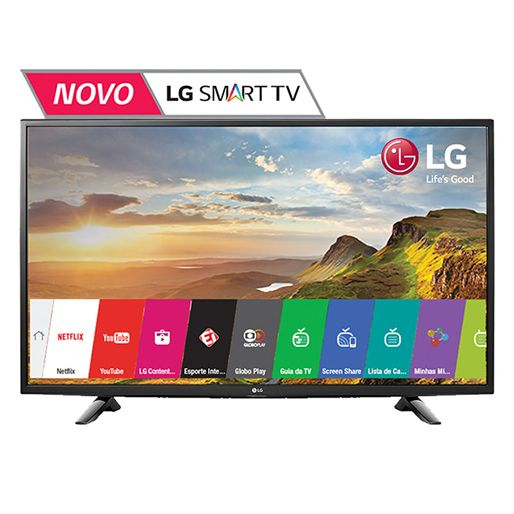 Smart TV LED 49 Full HD LG 49LH5700 com Painel IPS, WiFi