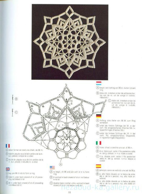 Gallery.ru / Фото #6 - Creations Crochet D'or - nezabud-ka