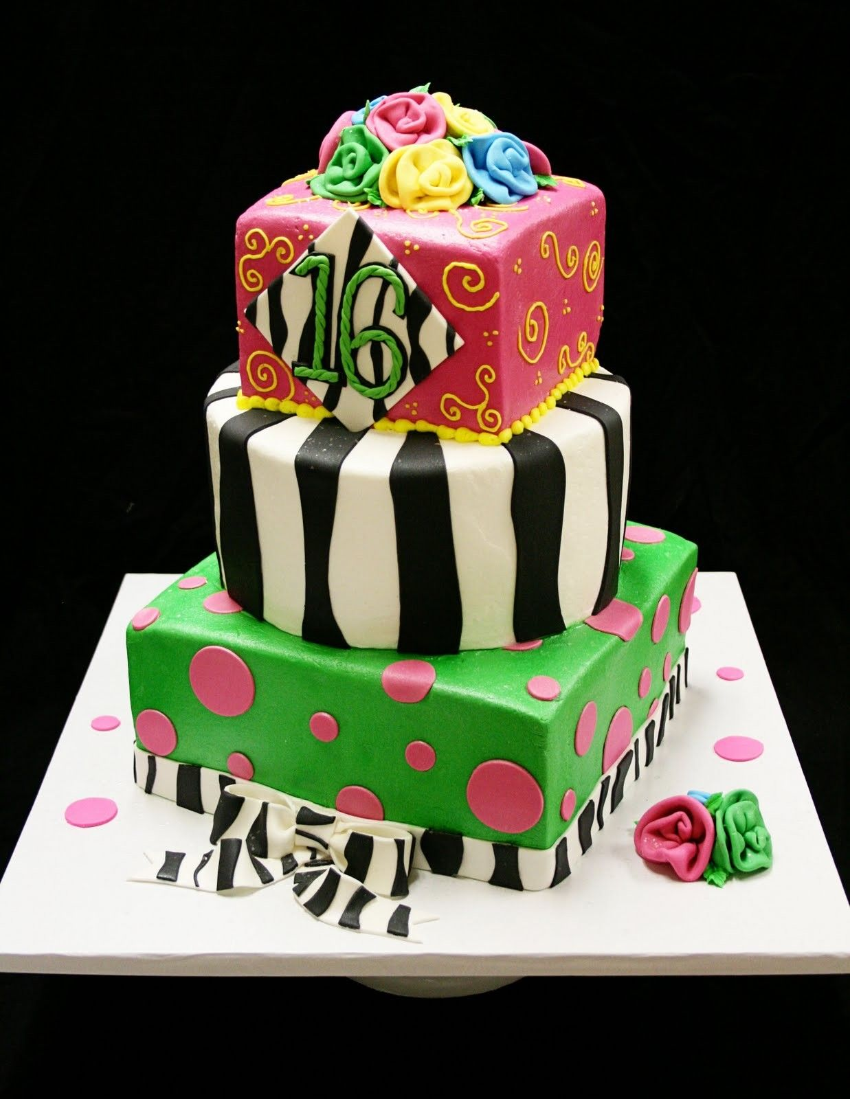 sweet16birthdaycakesforgirls Sweet 16 Cakes Decoration