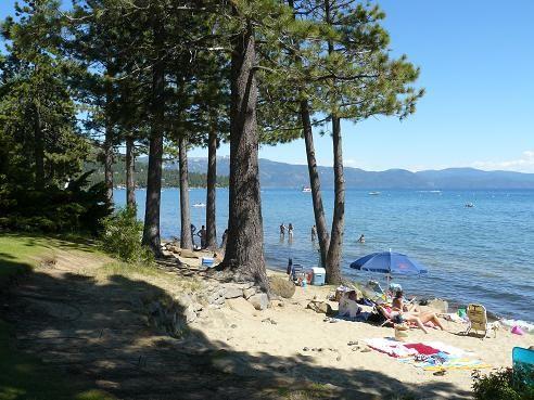 Kings Beach Ca At Lake Tahoe