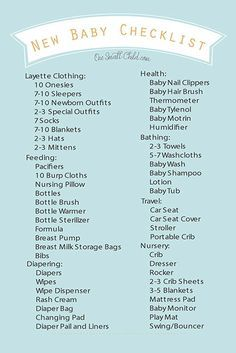 graphic regarding Baby Checklist Printable titled Absolutely free Printable Fresh Boy or girl Record Boy or girl List Clean