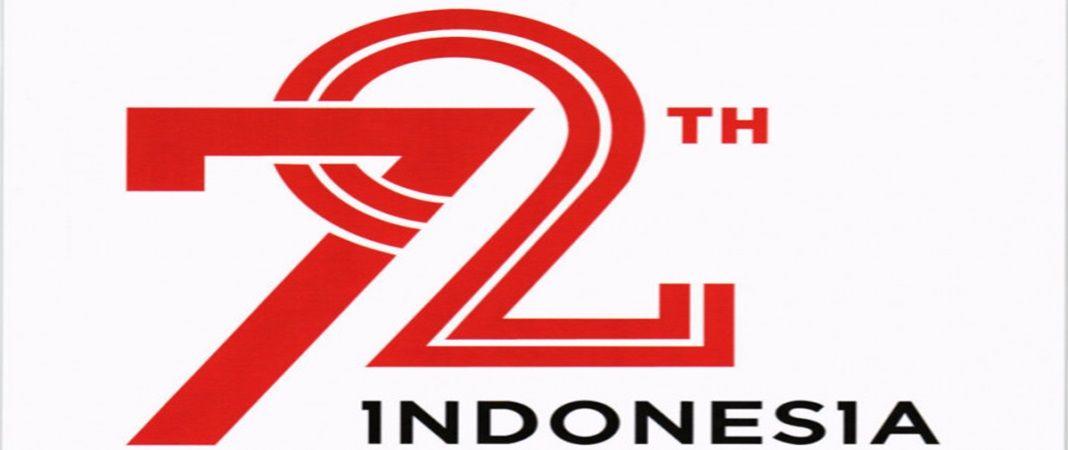 arti & makna logo hut ri ke 72 | places to visit | pinterest