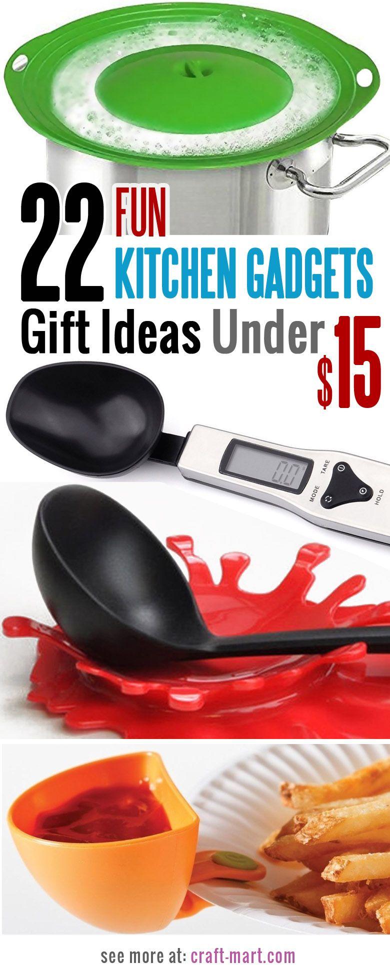 22 Fun Kitchen Gadgets Gift Ideas Under 15 Kitchen Gadgets Gifts Cool Kitchen Gadgets Cool Kitchens
