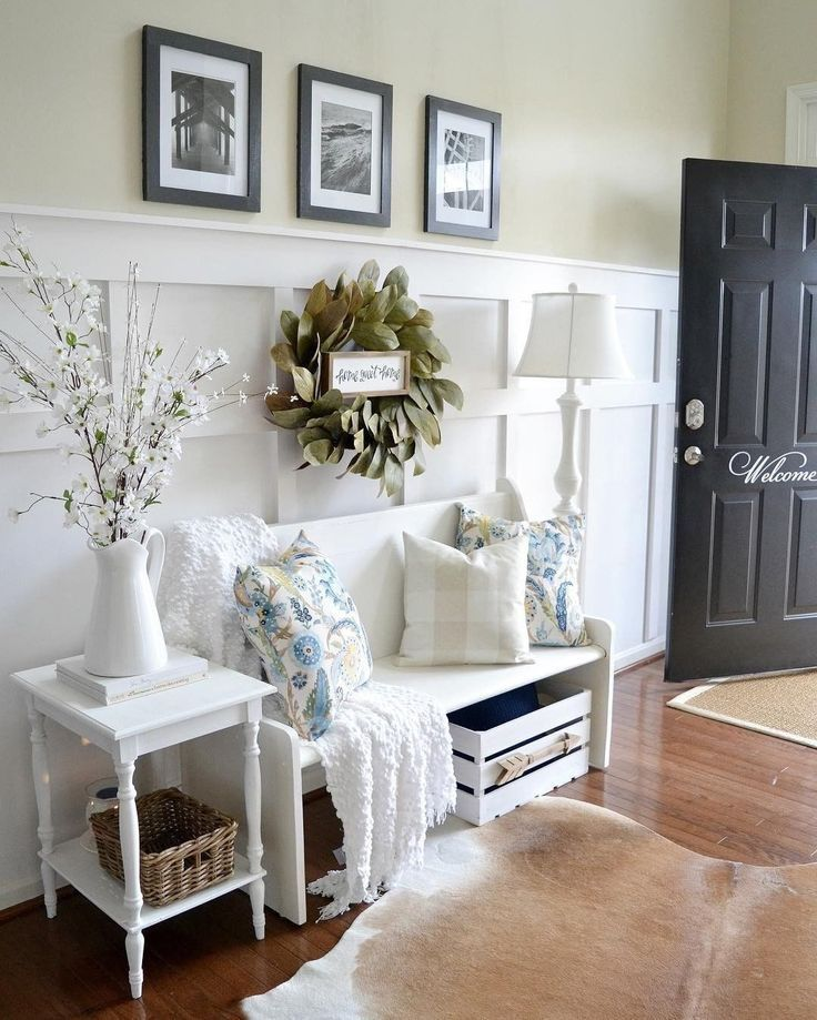 Attractive Interiors Home Staging: 55 Best Decoration For Farmhouse Entryway Design In 2020