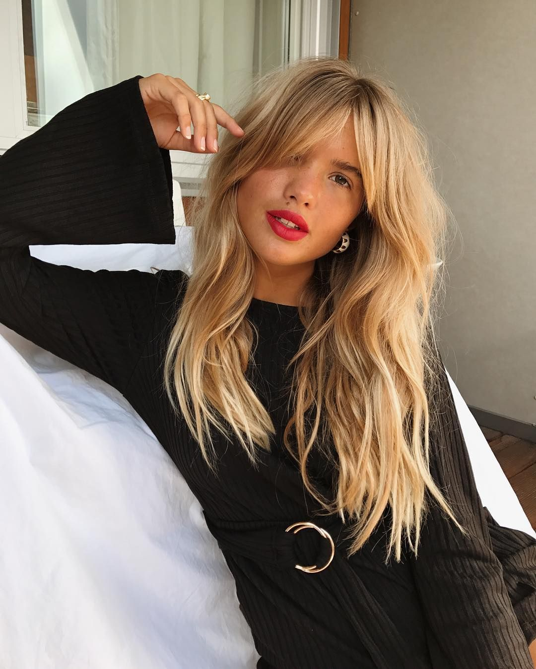Pin by lorena lika on color mind pinterest hair style bangs and