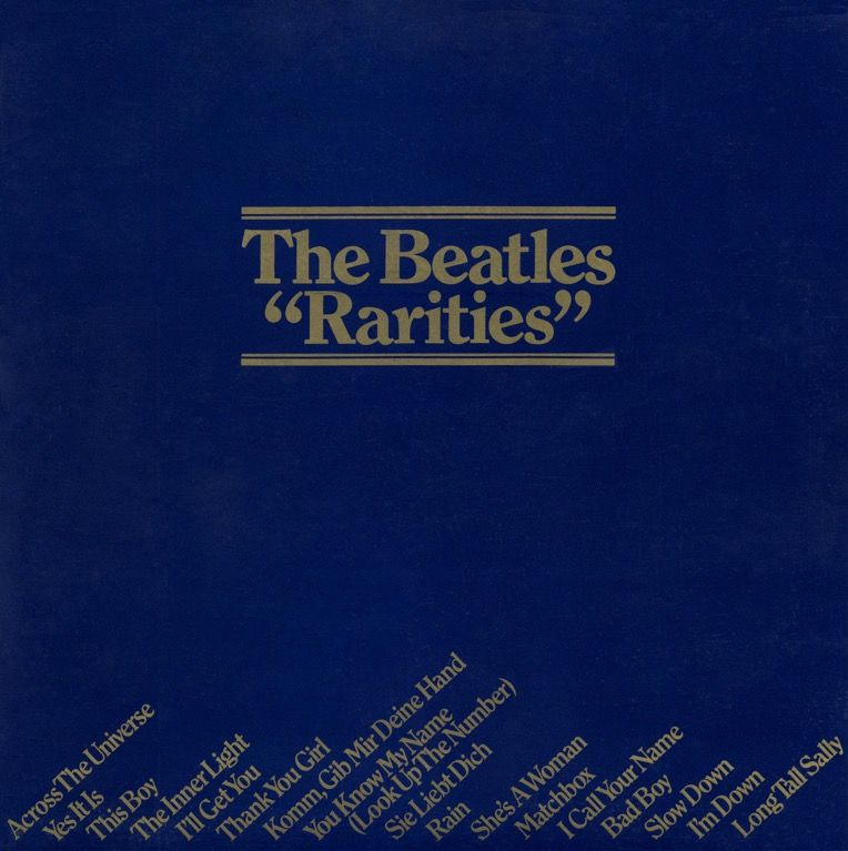 Rarities U K 1978 Beatles Records Beatles Albums Beatles Album Covers