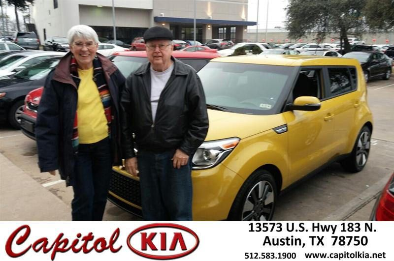 #HappyAnniversary to Sue Peterson on your 2014 #Kia #Soul from Everyone at Capitol Kia!