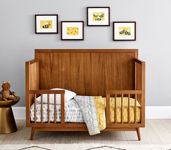 West Elm X Pbk Mid Century 4 In 1 Toddler Bed Conversion Kit