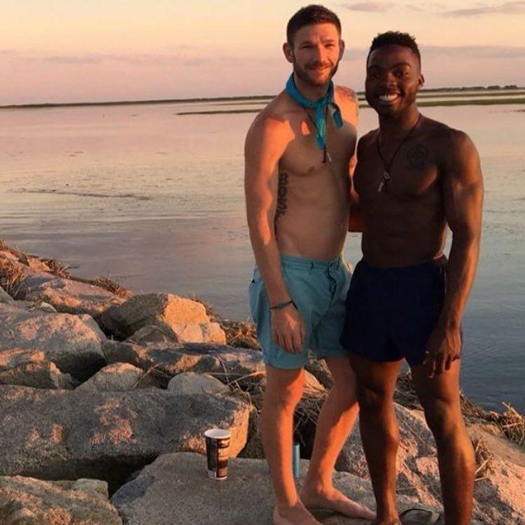 Interracial hookup in gay community