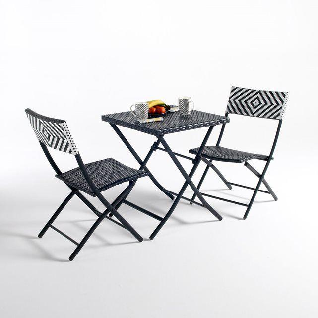 Table Pliante Moonbaza La Redoute Interieurs Table De Jardin