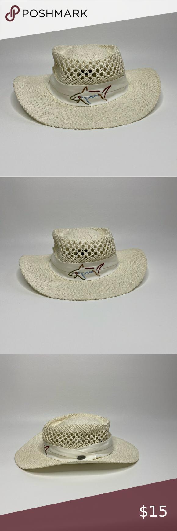 Greg Norman Straw Hat In 2020 Straw Hat Greg Norman Accessories Hats