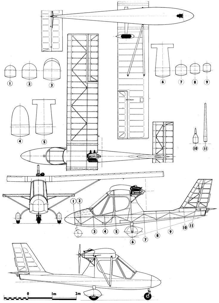 Kossak k91 Ultralight Blueprint