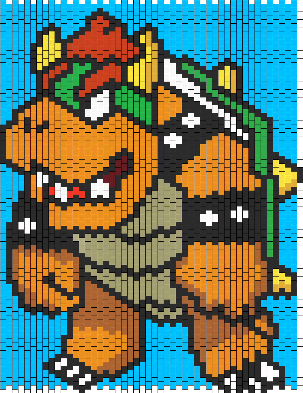 Bowser bead pattern | Beads | Pinterest | Bowser, Bead patterns and ...