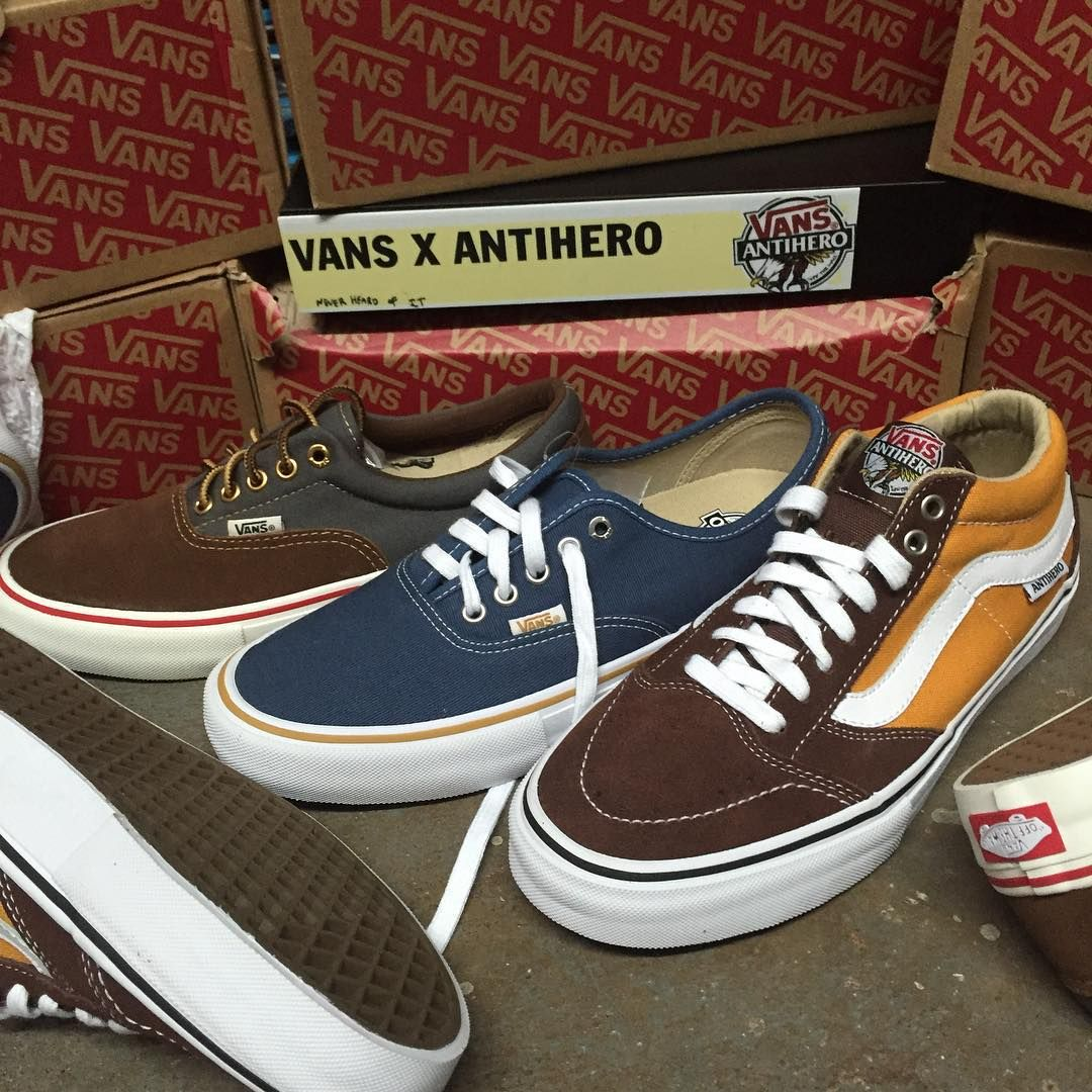 262881c591c2 The Latest from the Vans x Antihero collection is now available! The John Cardiel  Era Pro