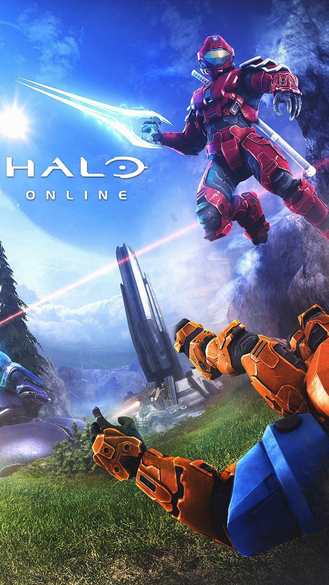 Halo Wallpaper Home Screen in 2020 Wallpaper, Video game