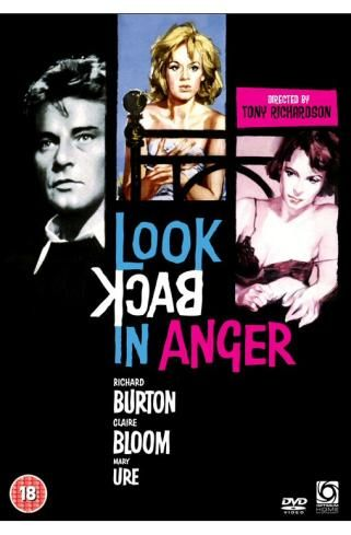 look back in anger starring richard burton claire bloom and mary ure look back in anger old movie posters amazon movies look back in anger starring richard