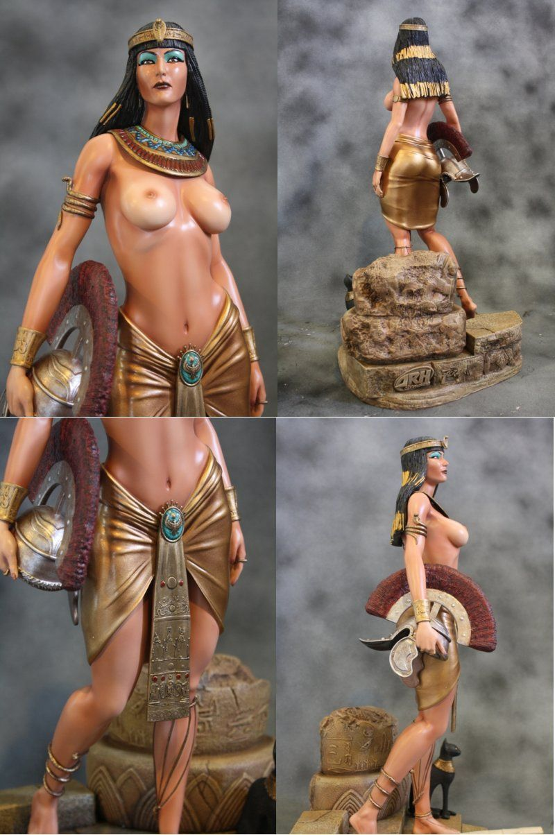 ARH Studios Cleopatra regina d'Egitto resin 1:4 statua PF formato .