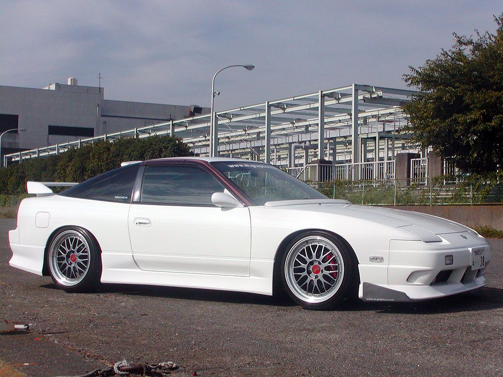 Nissan 180sx type x on bbs lm