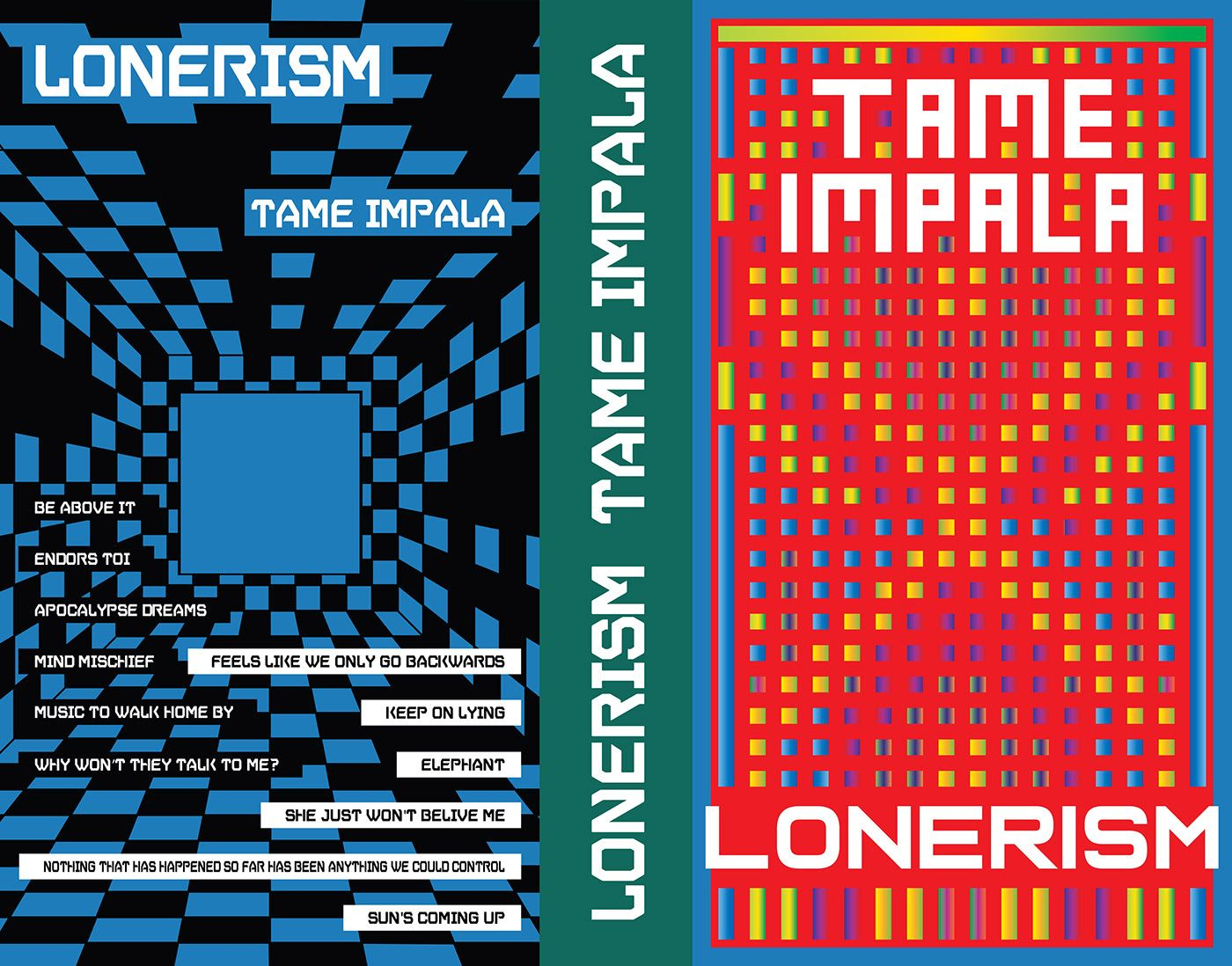 Tame Impala - Lonerism on Behance