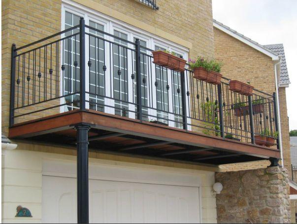 Balcony Support Com Imagens Parapeito Casas Corrimao