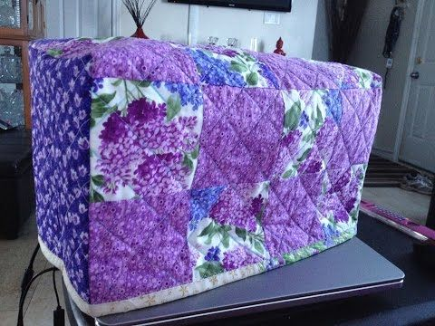 Quilting Tutorial) Sewing Machine Cover PART 1 (Video 115 ... : youtube quilting for beginners - Adamdwight.com