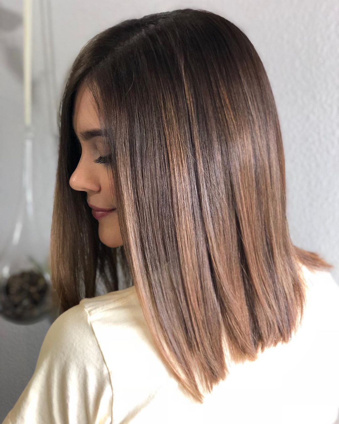 """Photo of Christina Crook on Instagram: """"First session breaking through dark brown box dye 🙅🏻♀️ . . Okay you've heard your hairstylist bitch about it, we tell you not to use it,…"""""""